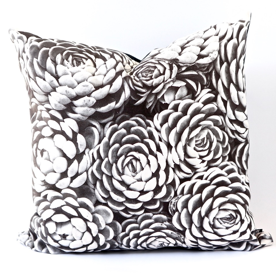 Cactus Cluster Cushion Cover