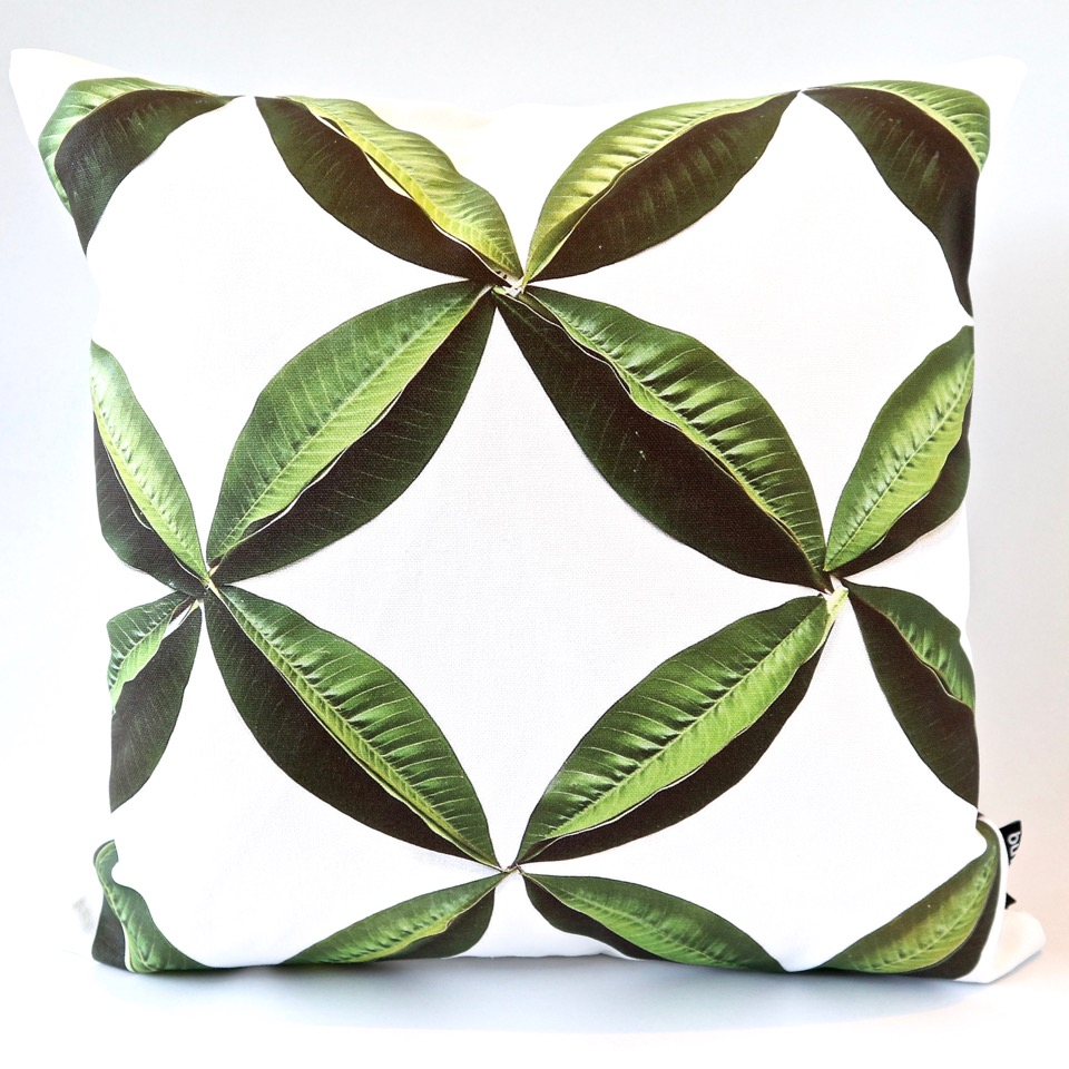 Leaf Geo Cushion Cover
